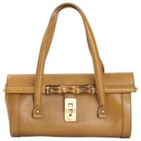 GucciPre-Owned - Beige Leather Handbag