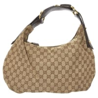 GucciPre-Owned - Hobo cloth handbag