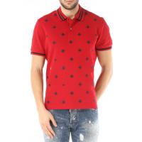 GucciPolo Shirt for Men, Bordeaux Red, Cotton, 2016, L M S