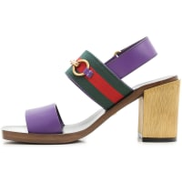 GucciSandals for Women On Sale in Outlet, Violet, Leather, 2016, 3.5 5 5.5 6 7