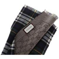 GucciScarf for Men On Sale, navy, Wool, 2016