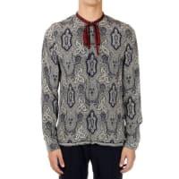 GucciSilk Printed Shirt Herbst/Winter