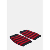GucciStriped Knit Hand Warmer Gloves