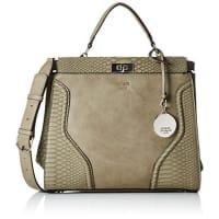 GuessDamen Georgie Satchel Top Plus Handtaschen, Einheitsgröße