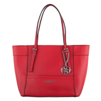 GuessHandtassen-Delaney Small Classic Tote-Rood