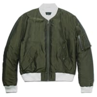 Haider AckermannPadded Shell Bomber Jacket - Army green