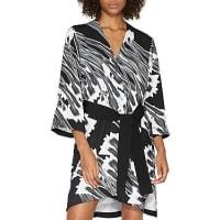 Halston HeritagePrinted Kimono Dress