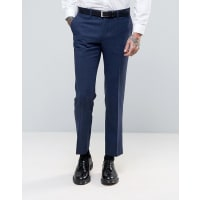 Harry BrownHeritage Slim Fit Donegal Suit Trousers - Blue