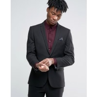 Harry BrownSlim Fit Suit Jacket in Black - Black