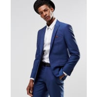 Harry BrownSlim Fit Suit Jacket in Bold Blue - Blue