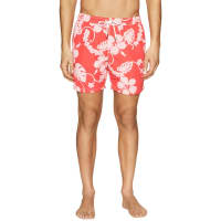 HartfordFloral Drawstring Swim Trunks