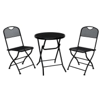 HartmanBobby Foldable 3-Piece Bistro Set