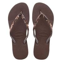 HavaianasSlippers-Flipflops Slim Metal Mesh-Bruin