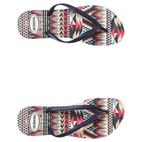 HavaianasSlim Tribal Prints Thong Blue