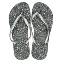 HavaianasSlimanimal slippers zilver