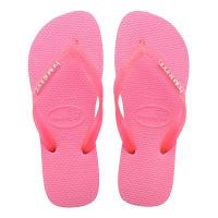 HavaianasSlippers-Flip Flops Logo Metallic-Roze