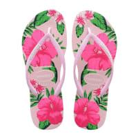 HavaianasSlippers-Flip Flops Slim Floral-Roze