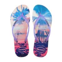 HavaianasSlippers-Flipflops Slim Paisage-Wit