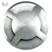 Havit LightingLED Inground Light Outdoor Fourway Stainless Steel MR16 in 3000K 9cm