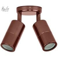 Havit LightingLED Spot Light Exterior Double Adjustable Bronze 10W in 3000K 11cm