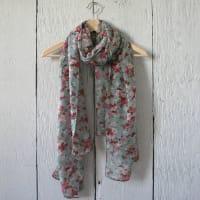 Hayley & CoDitsy Floral Print Scarf