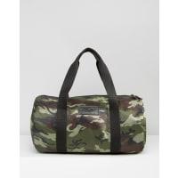 HeistDuffle Quilted Bag in Khaki Camo - Green