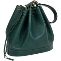 HermèsEmerald Shoulder Bucket Bag
