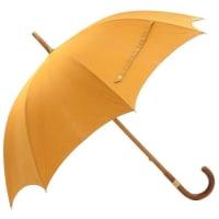 HermèsHermes Yellow Cotton Large Sunshade Umbrella