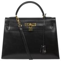 HermèsPre-Owned - Kelly leather handbag