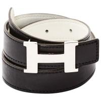 HermèsH Leder gürtel - aus zweiter Hand