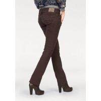 HerrlicherStraight-Jeans »Pitch Straight« mit Stretch-Anteil, rot, Länge 30, bordeaux