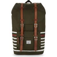 HerschelLittle America Backpack, Forest Night/Veggie Tan