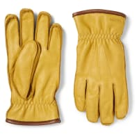 HestraOrnberg Leather Gloves - Saffron