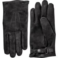 HestraRobert Glove Suede - Black