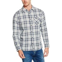 Hilfiger DenimThdm Basic Double Shirt L/S 15, Camisa para Hombre, Gris (Lt Grey Htr 038), X-Large