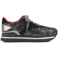 HoganSneaker Femme Pas cher en Soldes, Hogan Club, Noir, Daim, 2016, 35.5 36 36.5 37 37.5 38 38.5 39 39.5 40