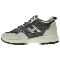 HoganSneakers for Women, Silver, Suede leather, 2016, 10 5 6.5 7 9