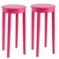 HOME AFFAIREBeistelltisch (2er-Set), rosa, pink