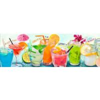 HOME AFFAIREHome affaire Deco Panel »Cocktails III«, 90/30 cm