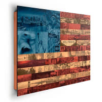 HOME AFFAIREHome affaire, Deco Panel »Vereinigte Staaten Highlights Flagge«, 90/60 cm