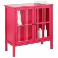 HOME AFFAIREKommode »Wood«, Breite 80 cm, rosa, pink