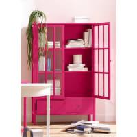 HOME AFFAIREVitrine »Wood«, Breite 100 cm, rosa, pink