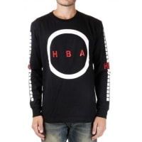 Hood By AirT-shirt ORGY in cotone Jersey a Maniche Lunghe Autunno-Inverno