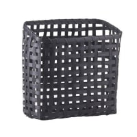 House Doctorstorage basket bamboo black