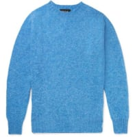 HowlinBirth Of The Cool New Wool Sweater - blue