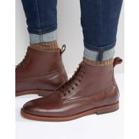 HudsonForge Leather Boots - Brown