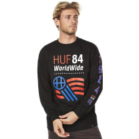 HUF1984 Ls Mens Tee Black