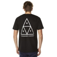 HUFTriple Triangle Mens Tee Black