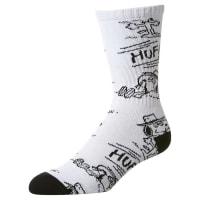 HUFSpike Needles Crew Sock White