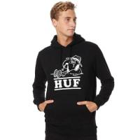 HUFSpike Needles Mens Pullover Hood Black